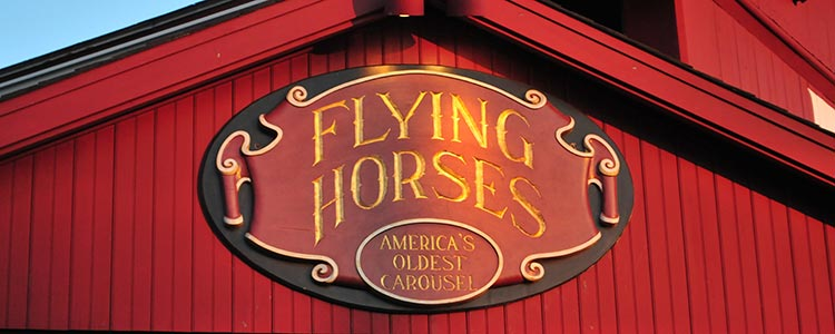 flying horses sign