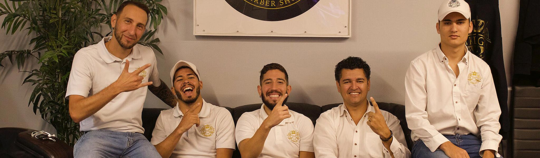 Kings Barber Shop team