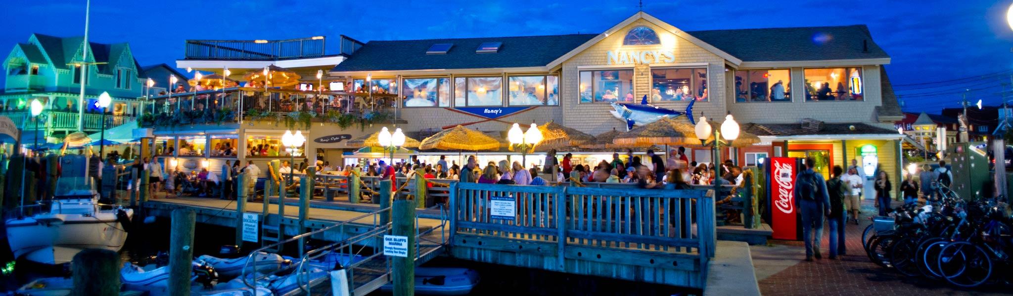 seafood restaurant oak bluffs