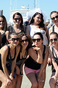 Martha's Vineyard bachelorette party group of girls