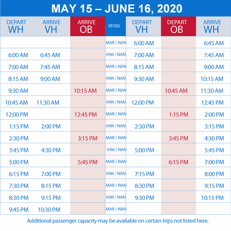 schedule may to june