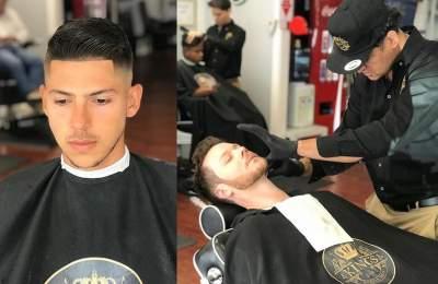 Alexandre Barbosa barber