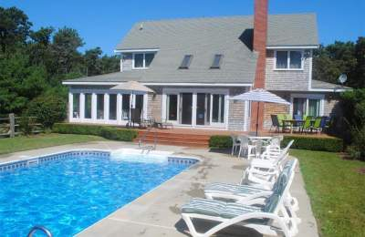 rental home with pool
