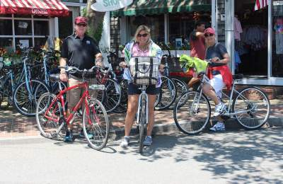 rent bikes on martha's vineyard