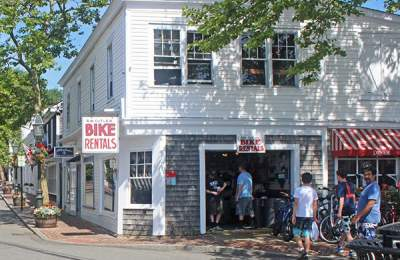edgartown bike rentals