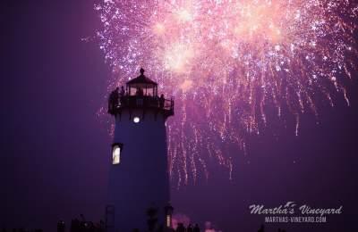 lighthouse fireworks