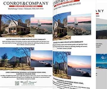 Martha's Vineyard Real Estate Sales Waterfront Properties